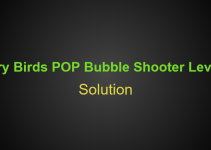 Angry Birds POP Bubble Shooter Level 11 Hints, Tips, strategy and Walkthrough