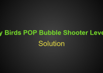 Angry Birds POP Bubble Shooter Level 134 Hints, Tips, strategy and Walkthrough