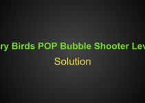 Angry Birds POP Bubble Shooter Level 8 Hints, Tips, strategy and Walkthrough