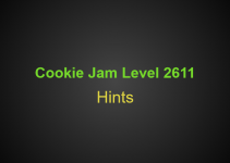 Cookie Jam Level 2611 Tips, Tricks, Hints, Cheats and more
