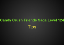 Candy Crush Friends Saga Level 124 Tips, Hints, strategy and Walkthrough