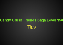 Candy Crush Friends Saga Level 158 Tips, Hints, strategy and Walkthrough