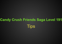 Candy Crush Friends Saga Level 191 Tips, Hints, strategy and Walkthrough